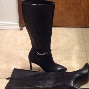 """Cole Hann """"Loveth"""" tall leather boots"""